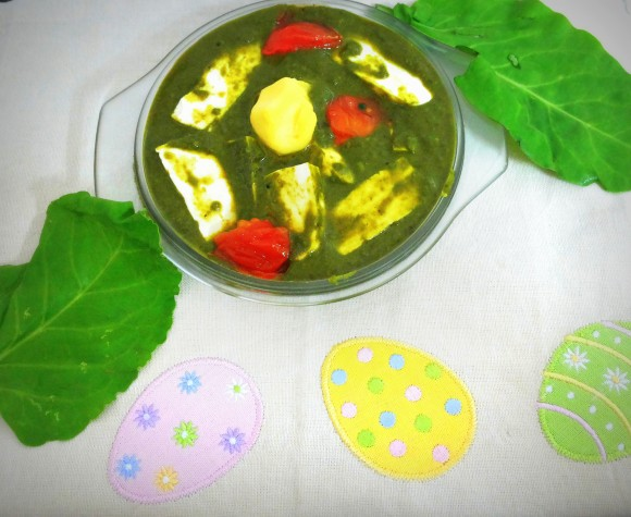 Palak (Spinach) Paneer