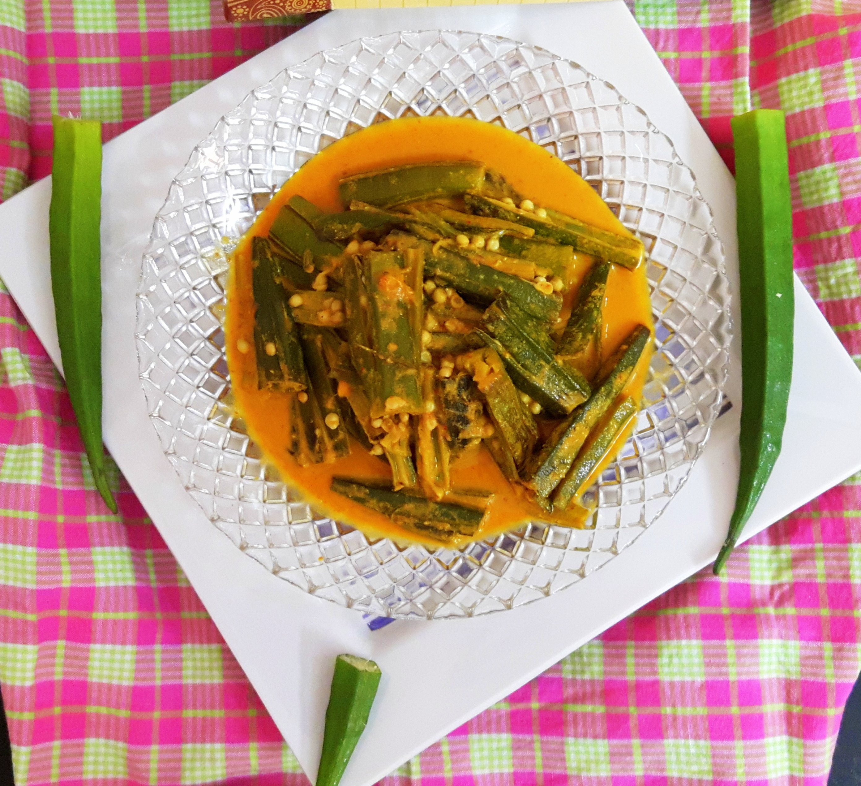 Bhindi (lady finger) curry