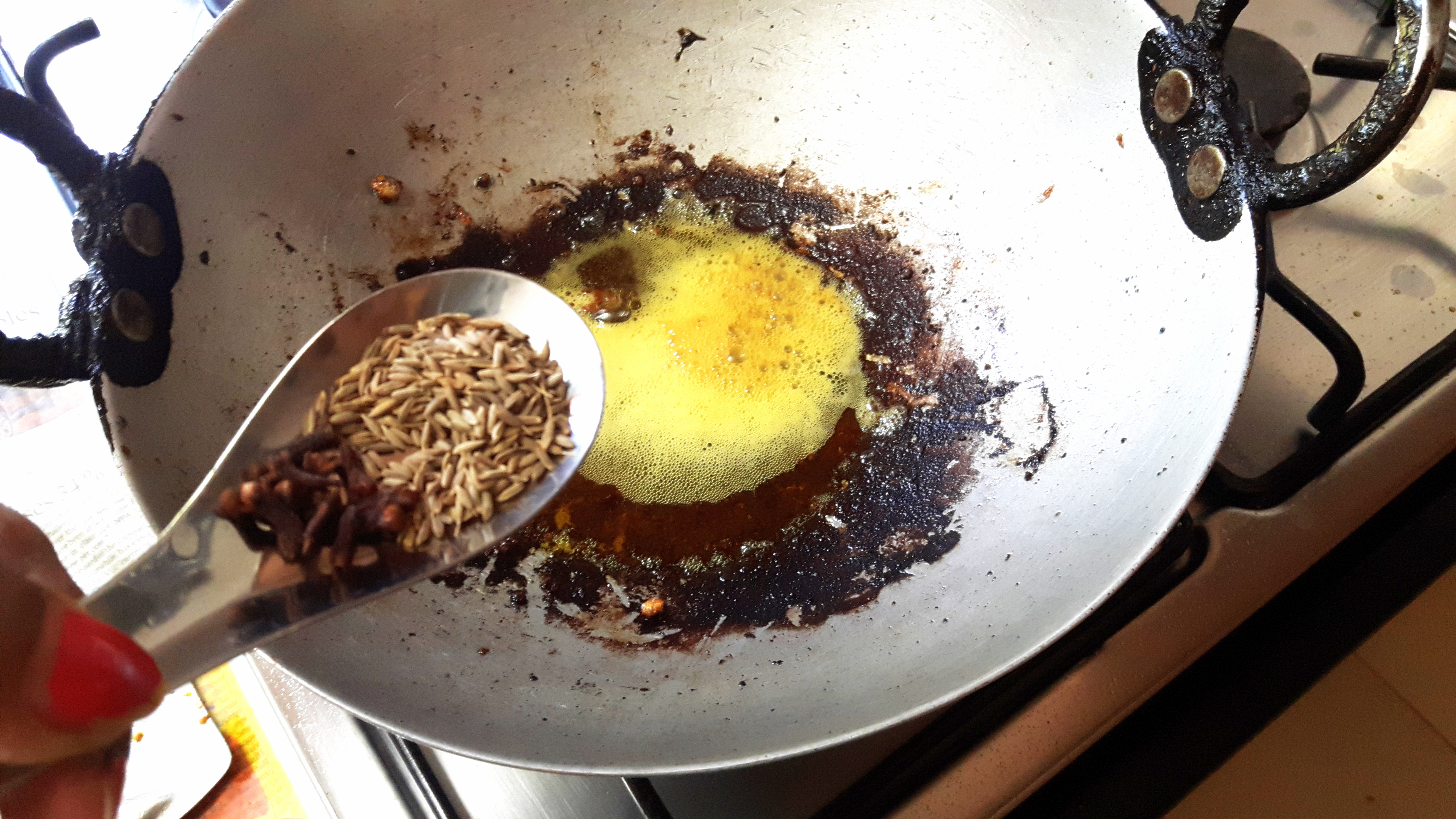 Add cumin seed