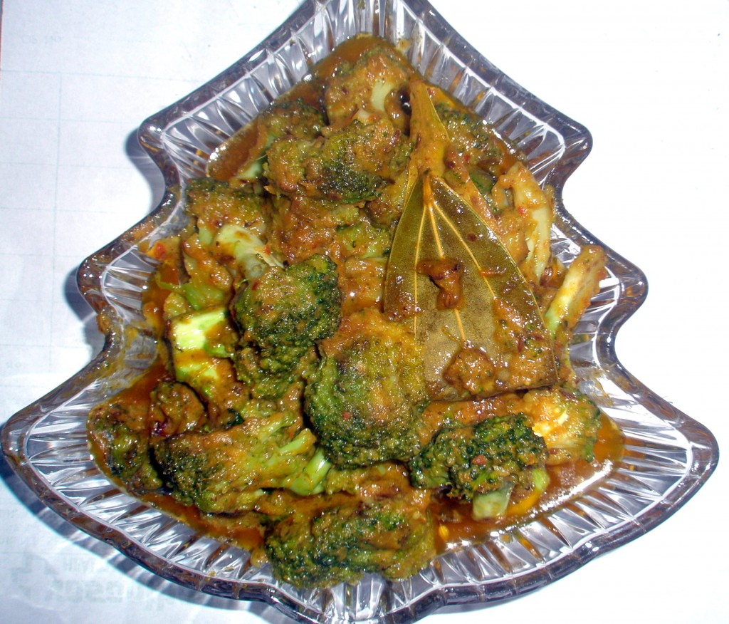 Broccoli butter masala