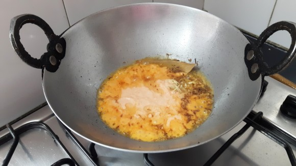 Add onion paste