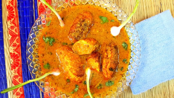 Paneer (cottage cheese/soya paneer) kofta curry