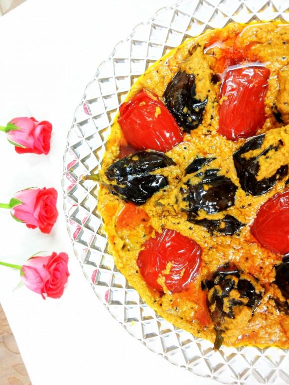 Baghare baigan (brinjal masala)