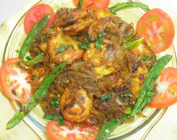 arabi golden and crispy with onion