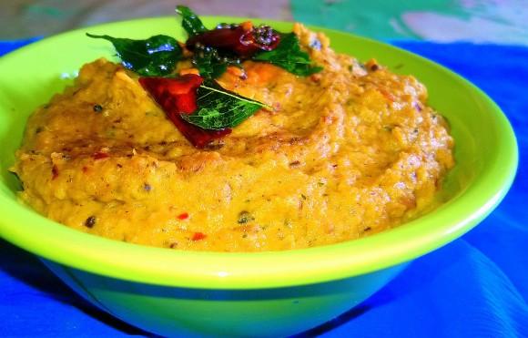 muli(radish) chutney
