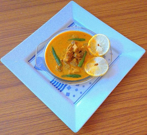 Sooran/suran/oal/jimikand (elephant yam) ki sabji in curd gravy