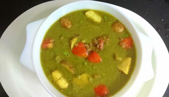 Green peas curry (godila / nimona)