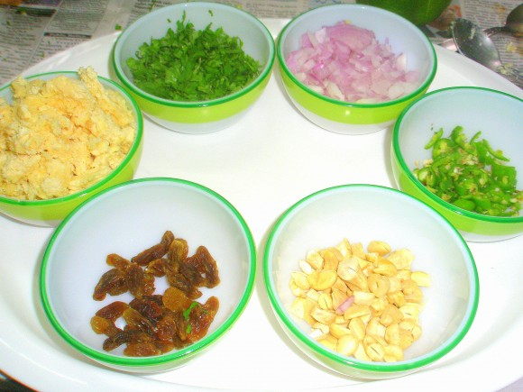 Ingredients of stuff potato