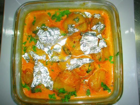 Royal Stuff potato masala