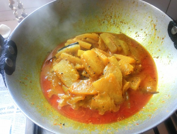 ash gourd sabji