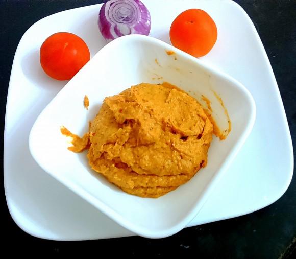 Tomato onion ki chatney