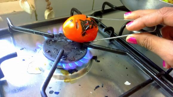roasting tomato