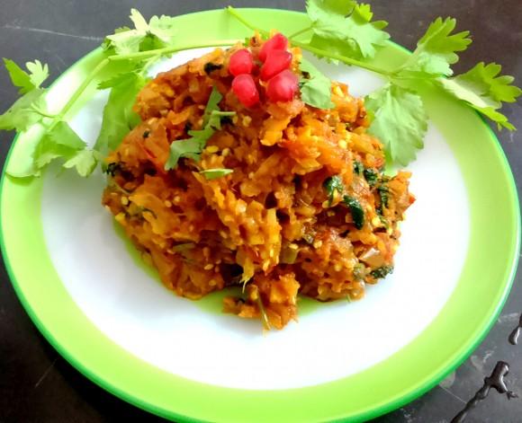 Baigan/Brinjal (egg plant) ka bharata/bhurttha