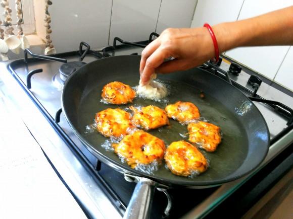 Frying vada