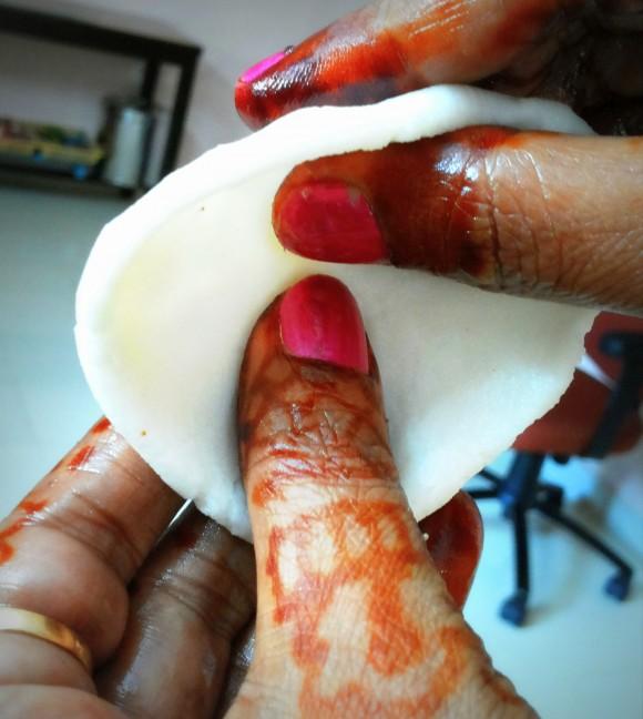 make a smooth bowl shape
