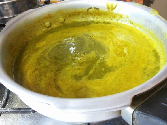 Poonnangani soup (Poonnangani keerai) / dal/ dalsagga