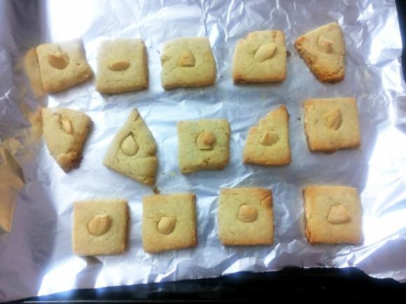 Kaju (cashew nut) biscuit