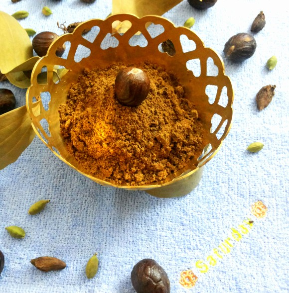 Garam masala (mixture of spices)