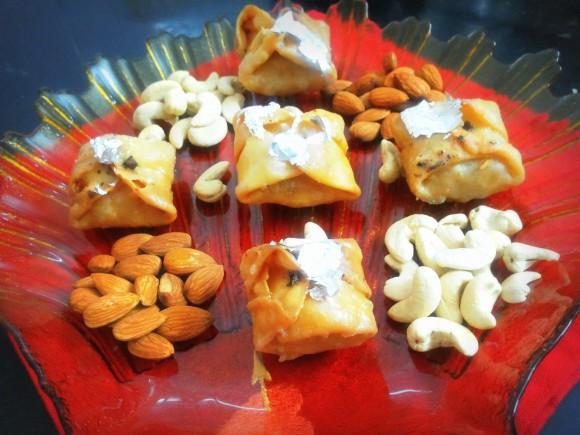 Lavang latika (clove sweets)