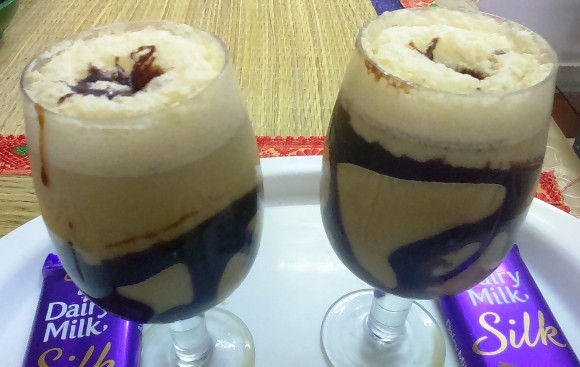 Cold/iced coffee (coffee milk shake)