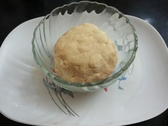 stiff dough.