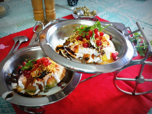 Raj kachori (Royal chat from Rajasthan)