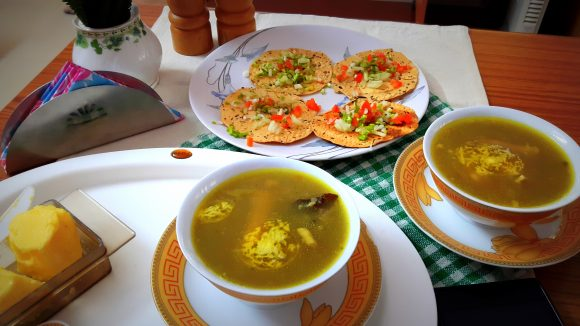 Mutton soup (lamb legs/paya soup)