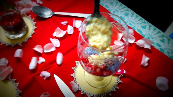 Arranging the kulfi – faluda