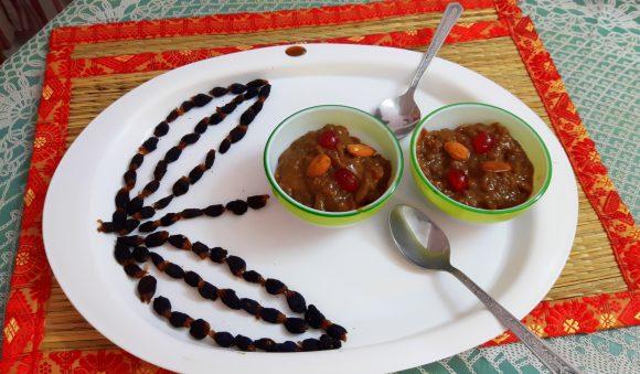 Mahupitthi (kheer in mahua flower juice)