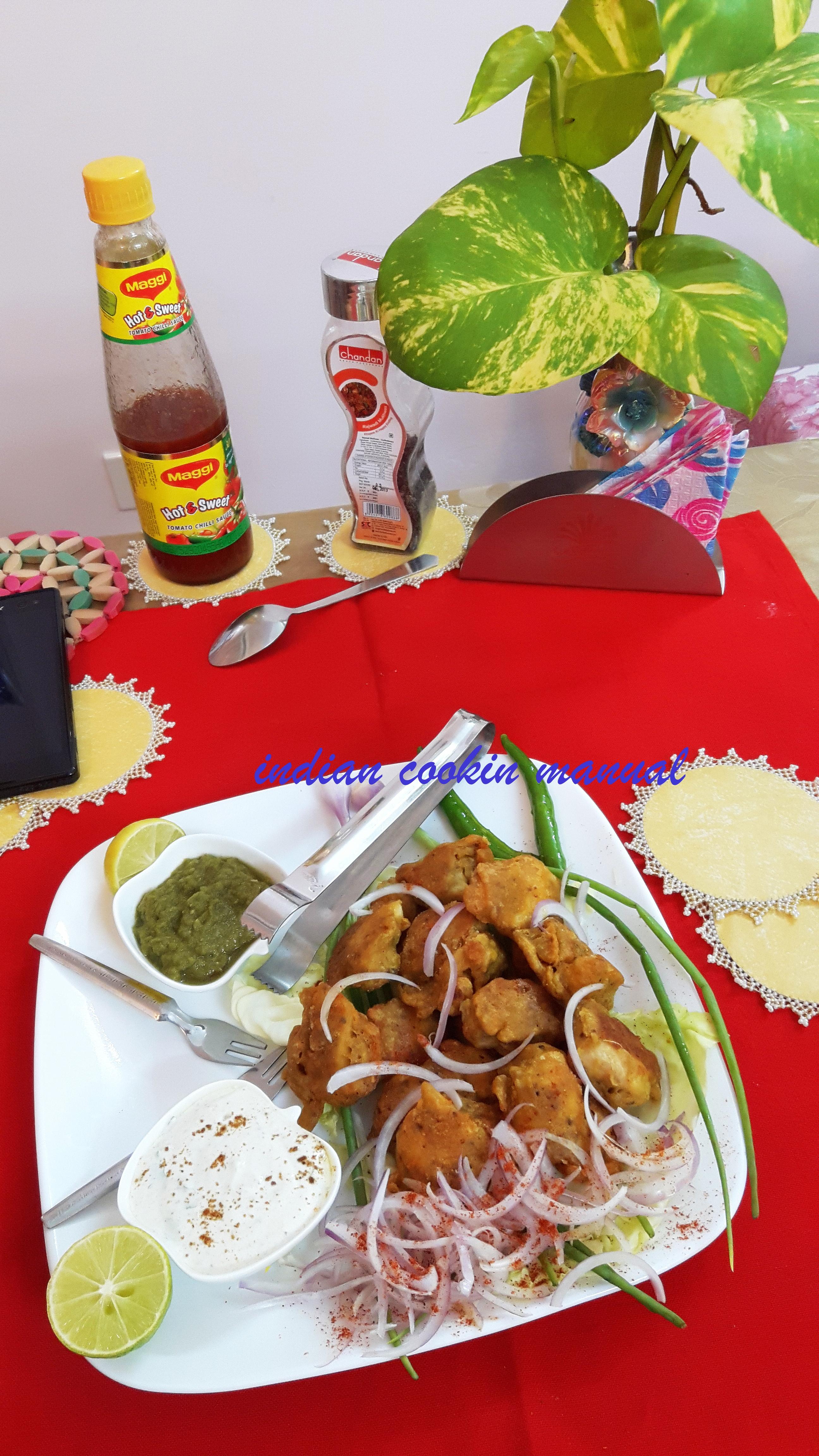 Chicken pakoda/fritters