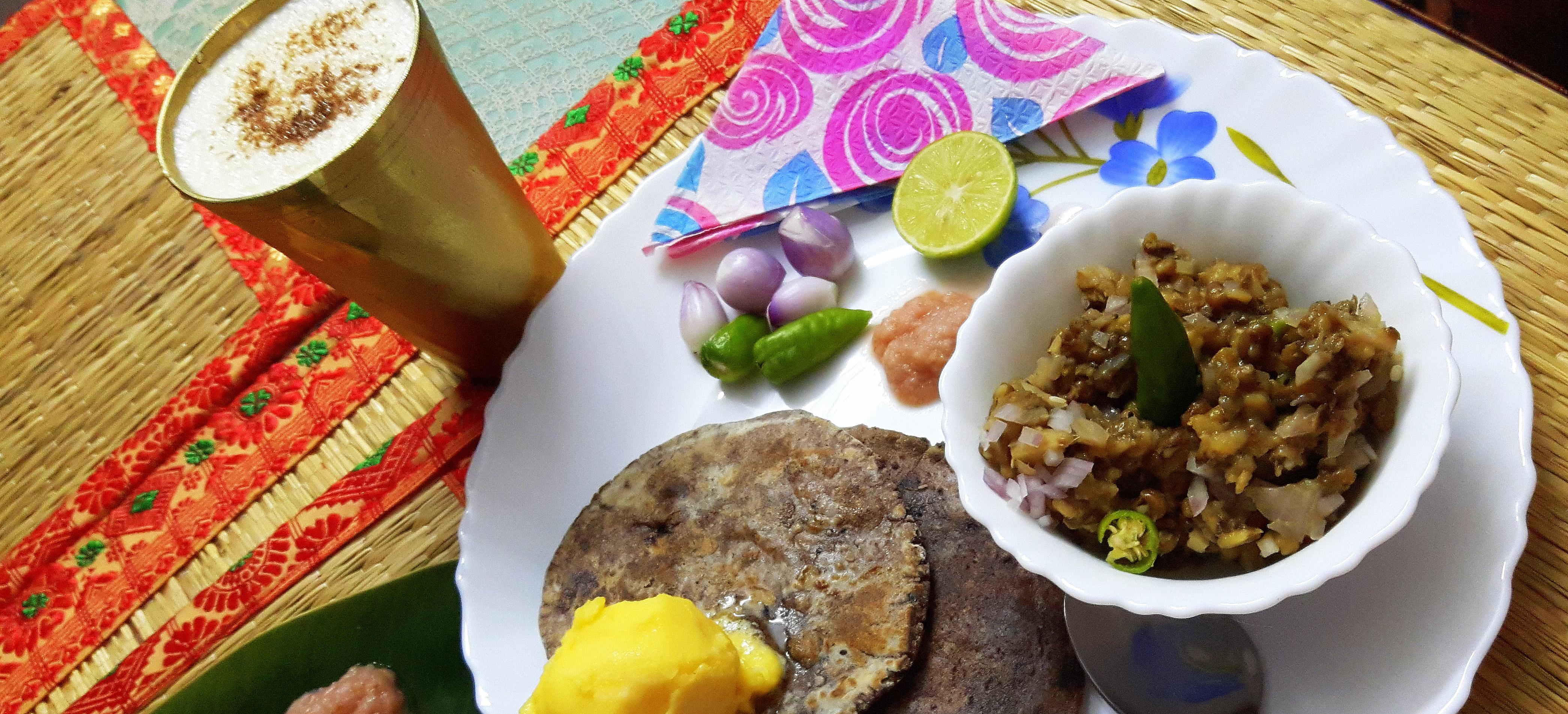Mung (green gram) ka bharta/chokha