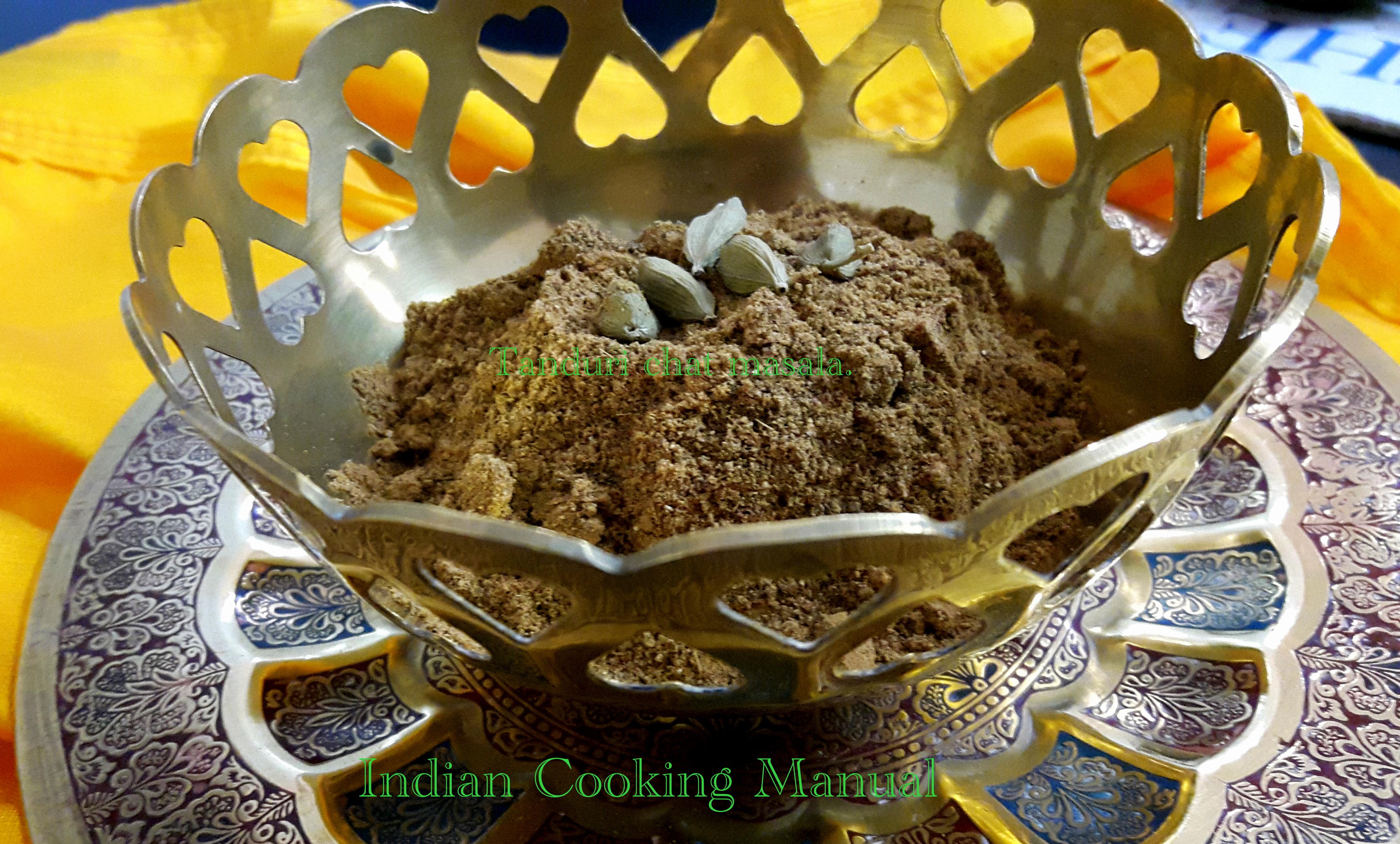 Tandoori chat masala