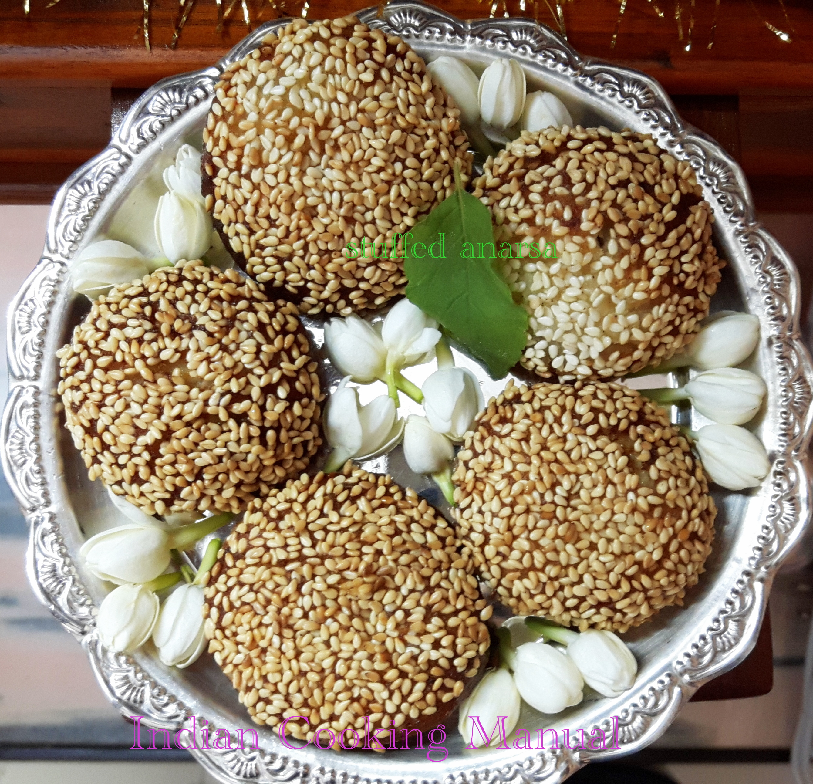 Stuff Khoa/Mawa anarsa (sweets)