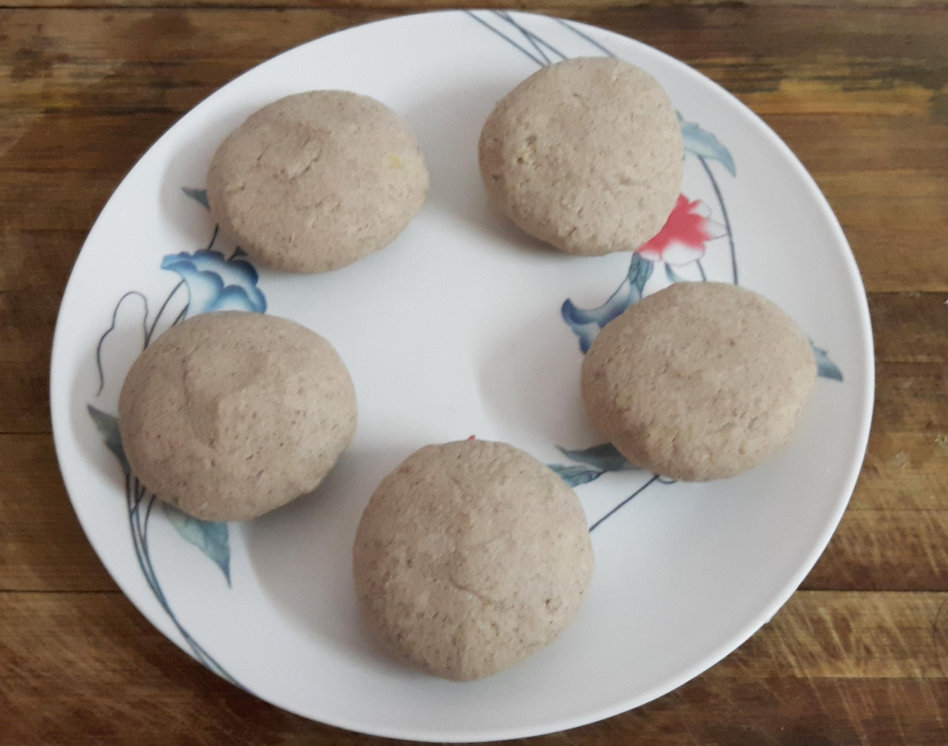 Divide dough into 5-6 parts