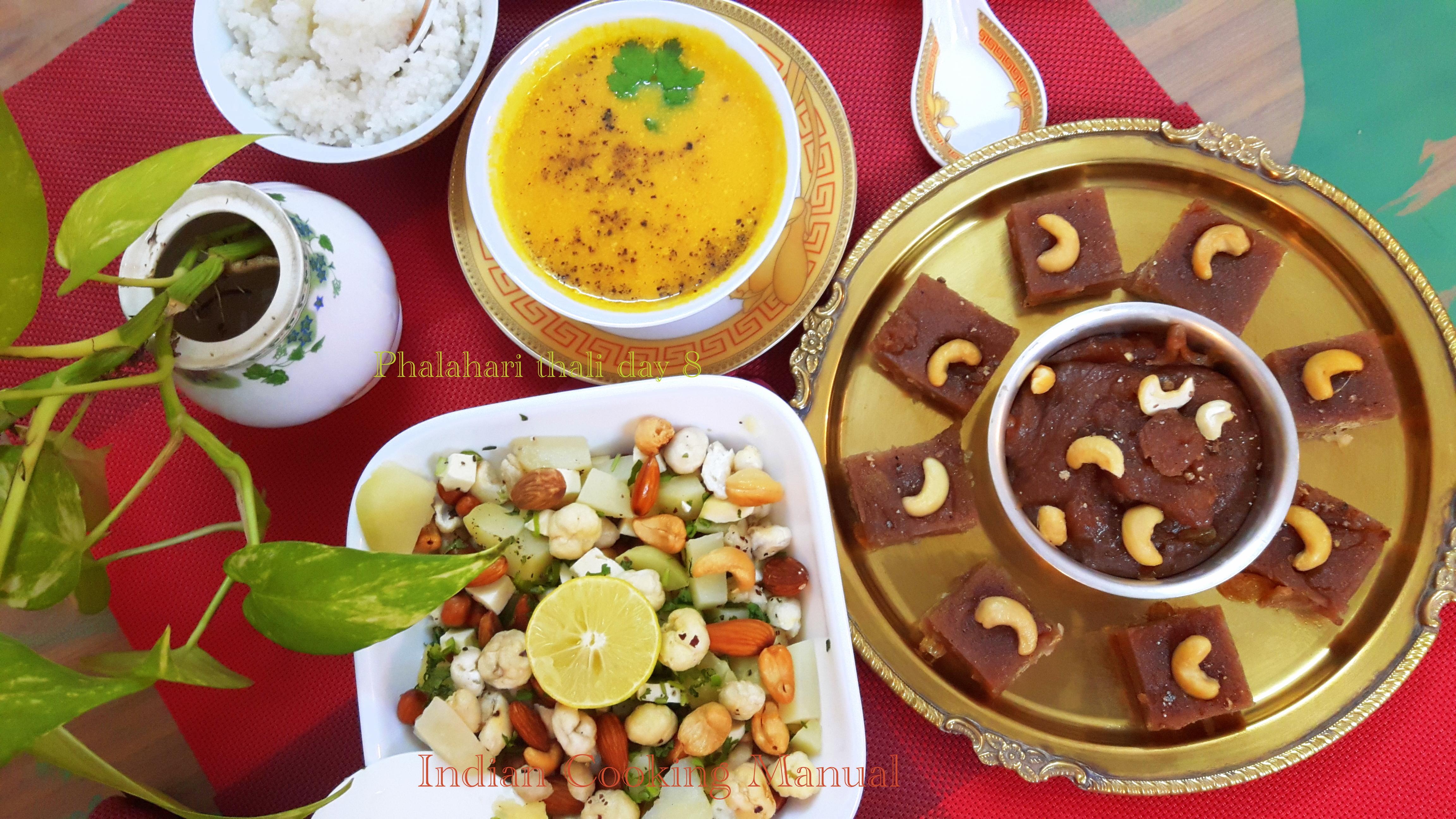 Phalahari Thali day 8