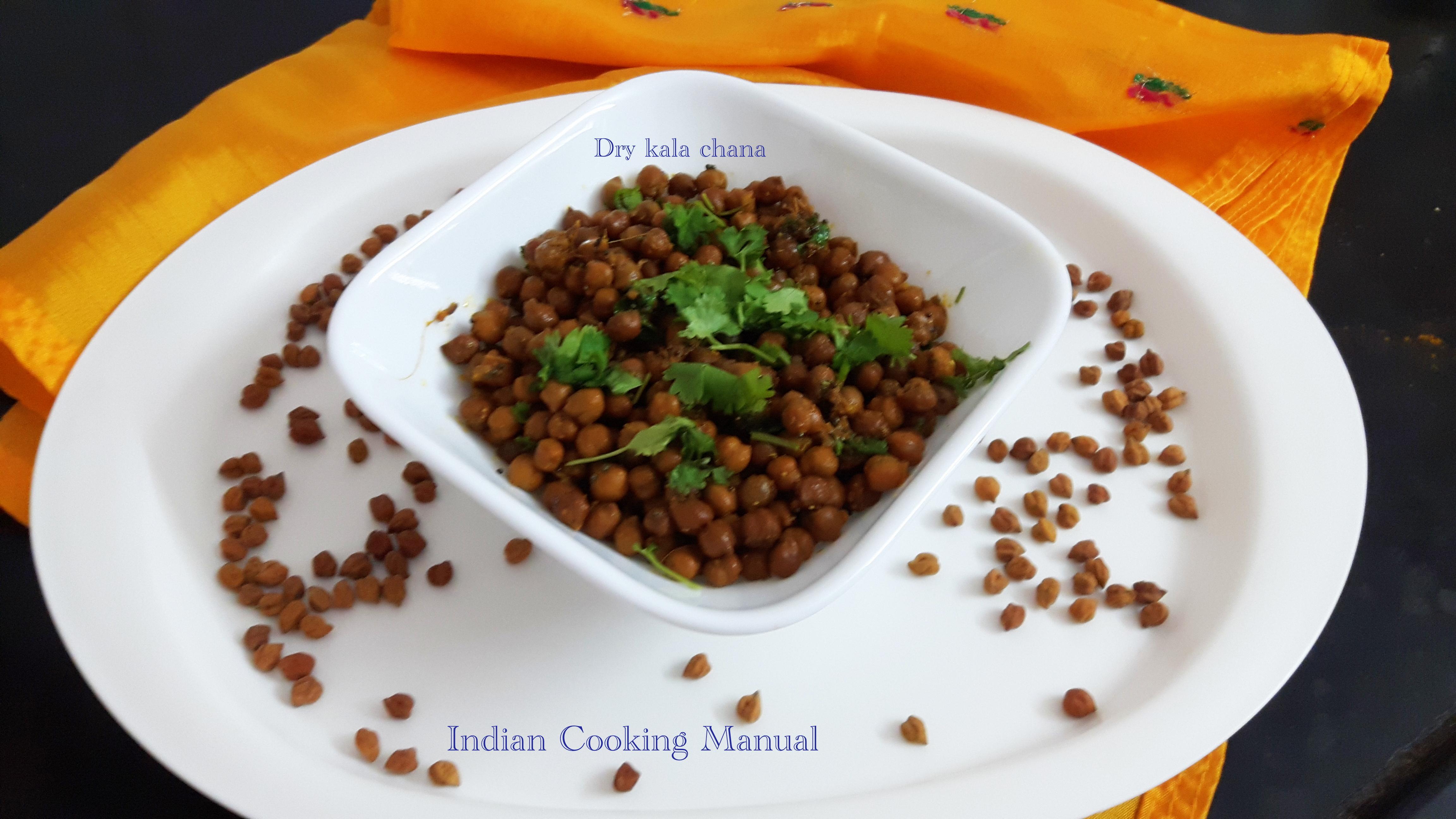 Dry kala chana (Bengal gram)