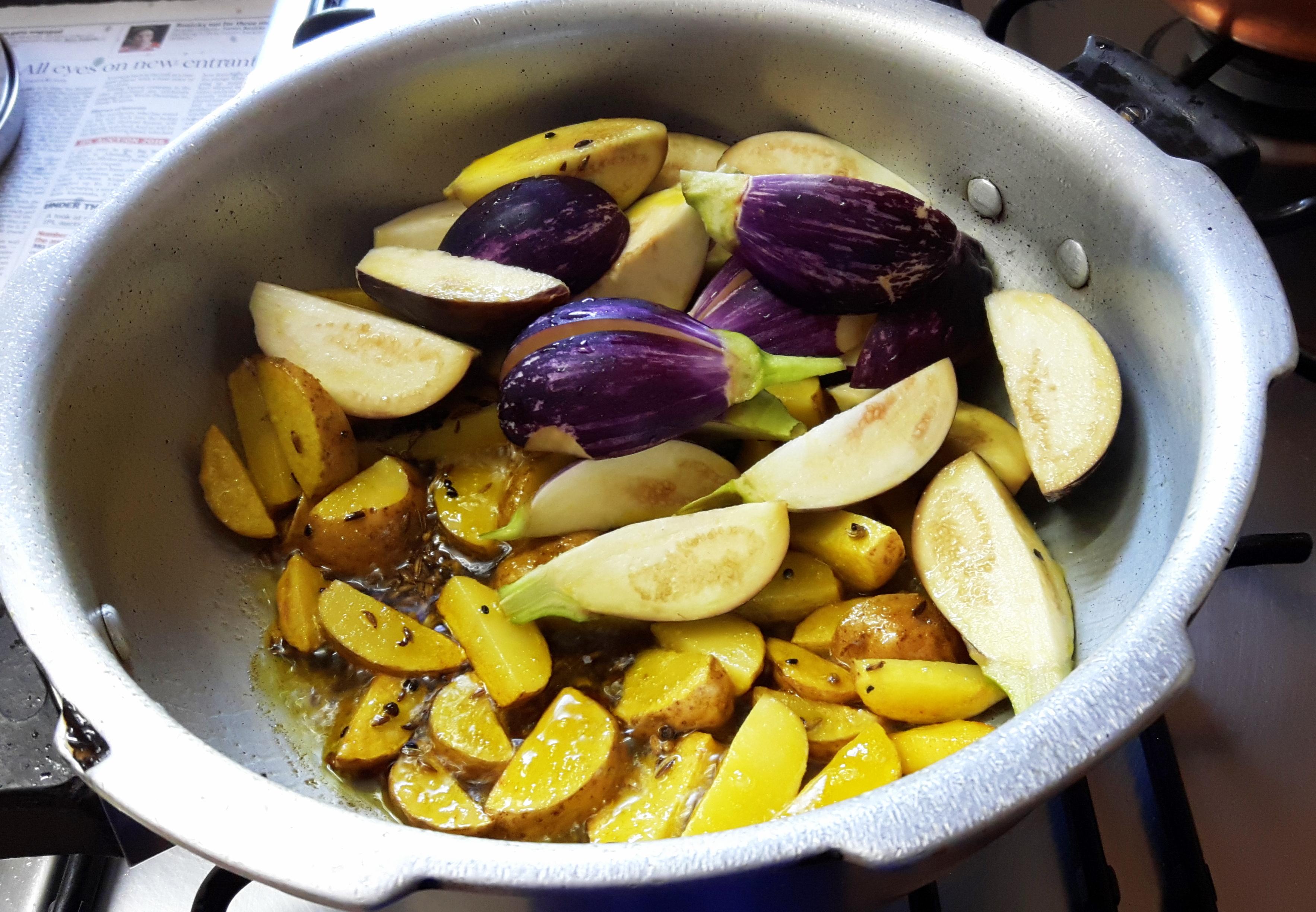Add egg plant
