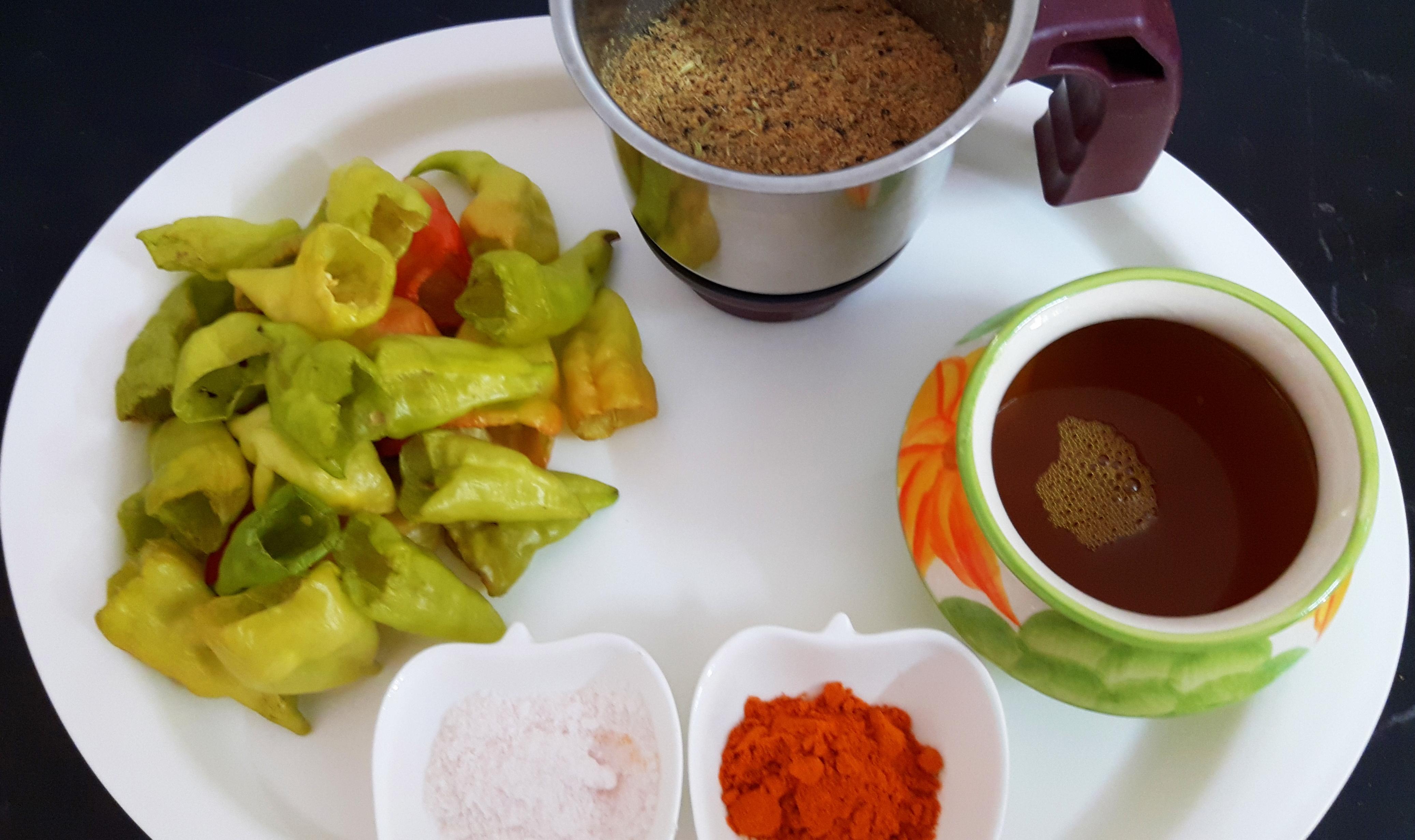 grinded masala