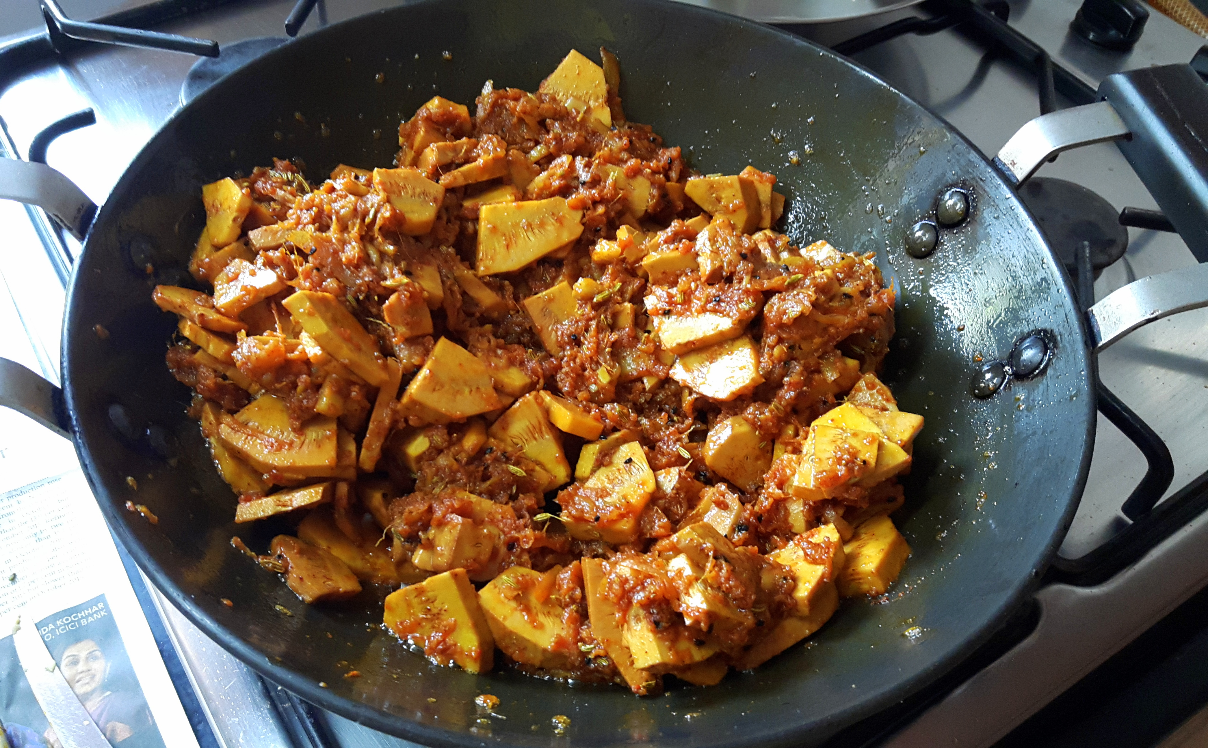 Stir it and fry for 4-5 minutes