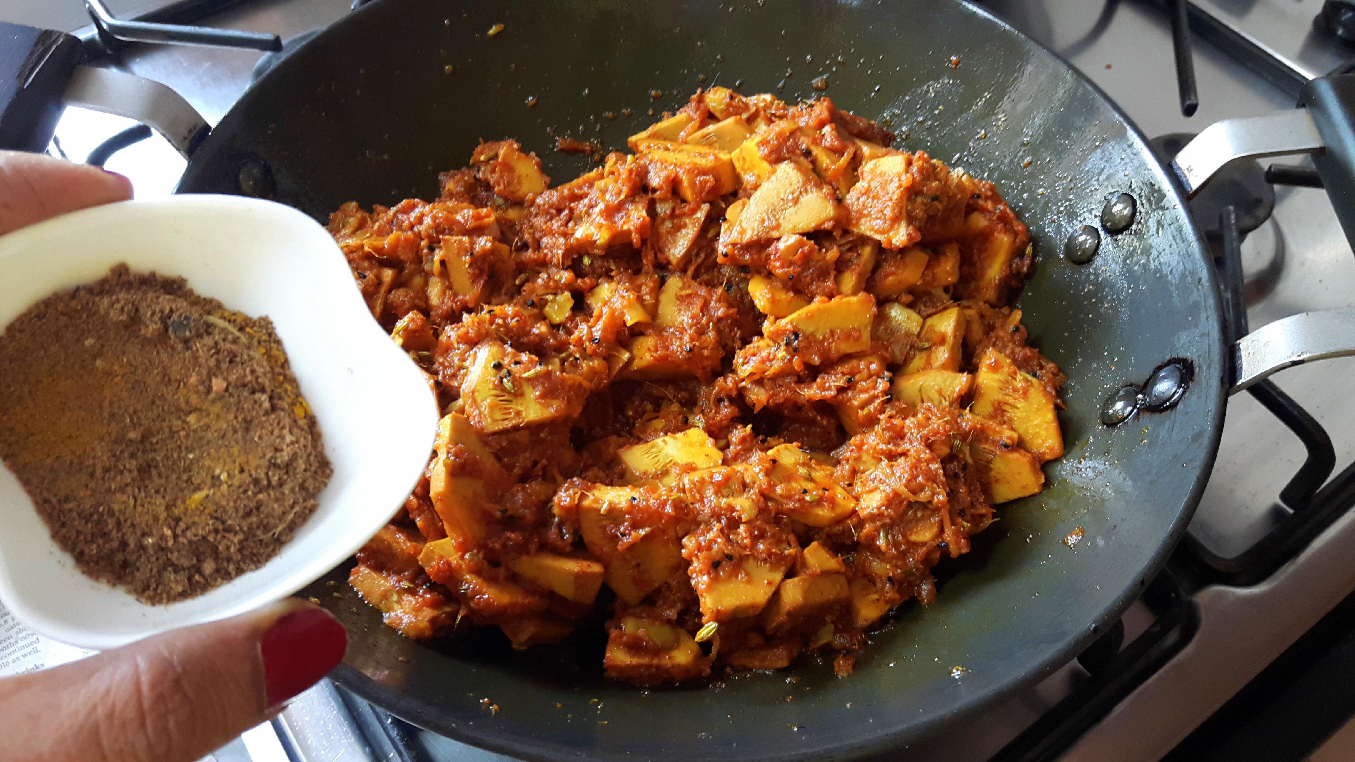 add Garam masala powder