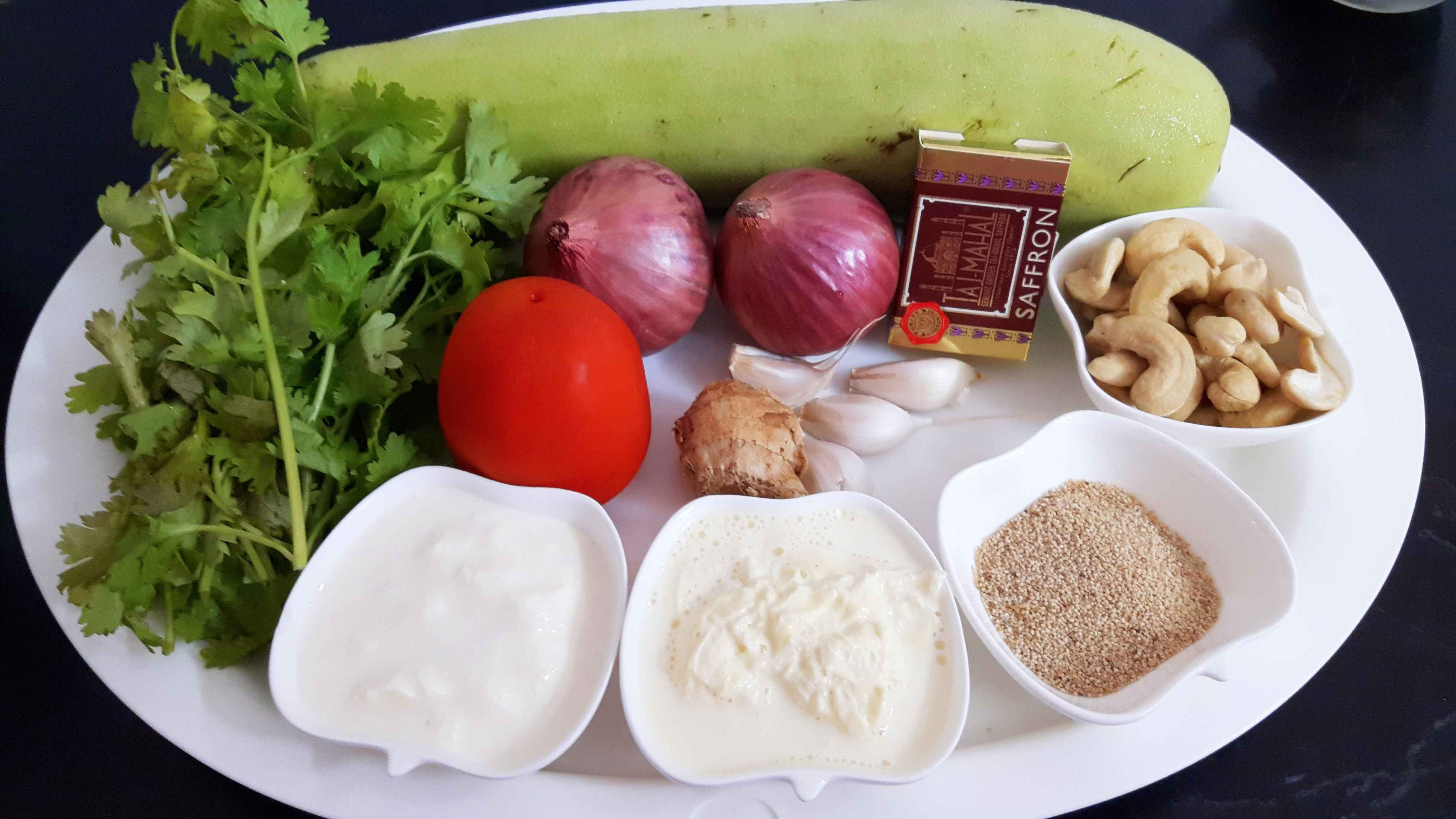 Ingredients for gravy
