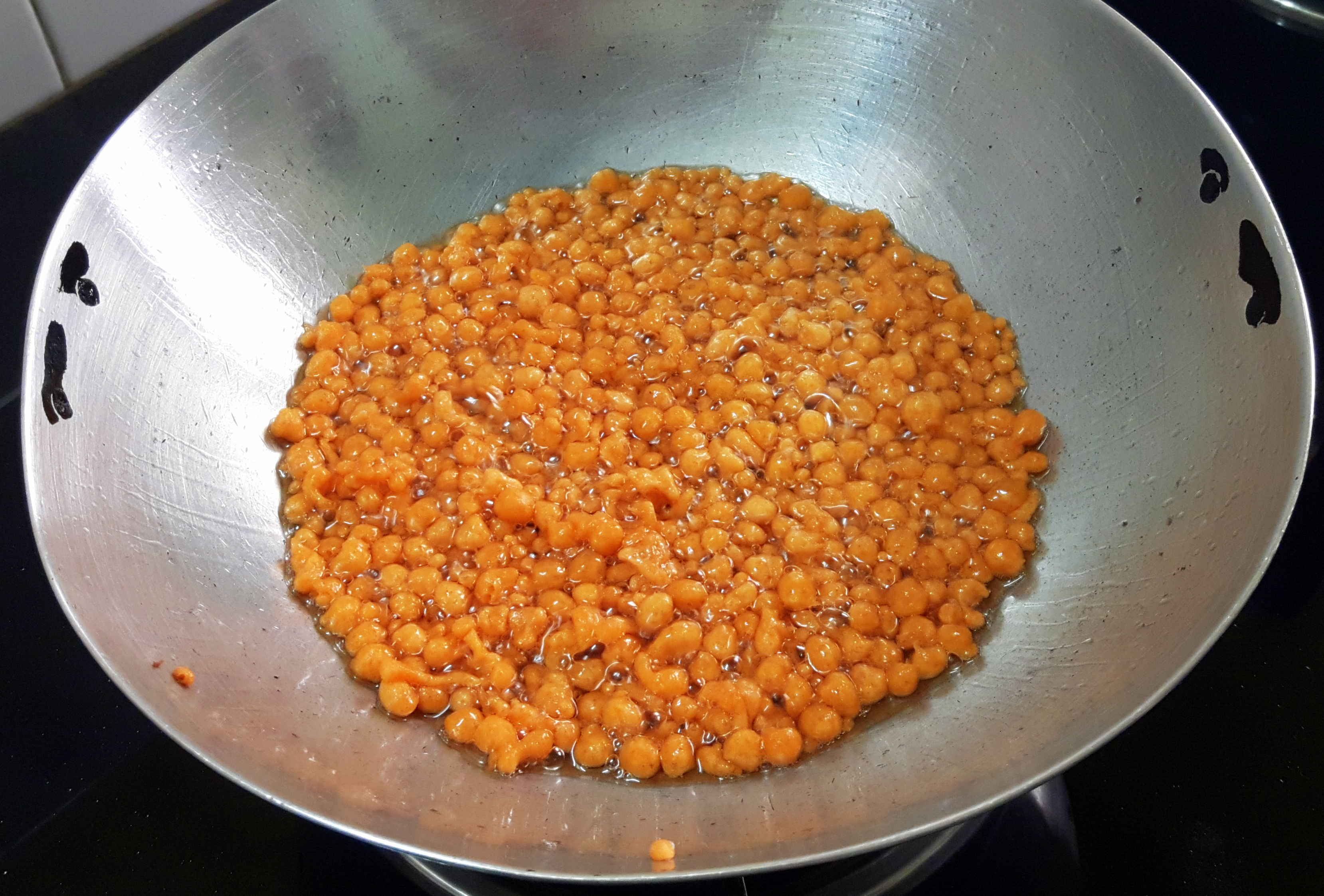beautiful round shaped boondi