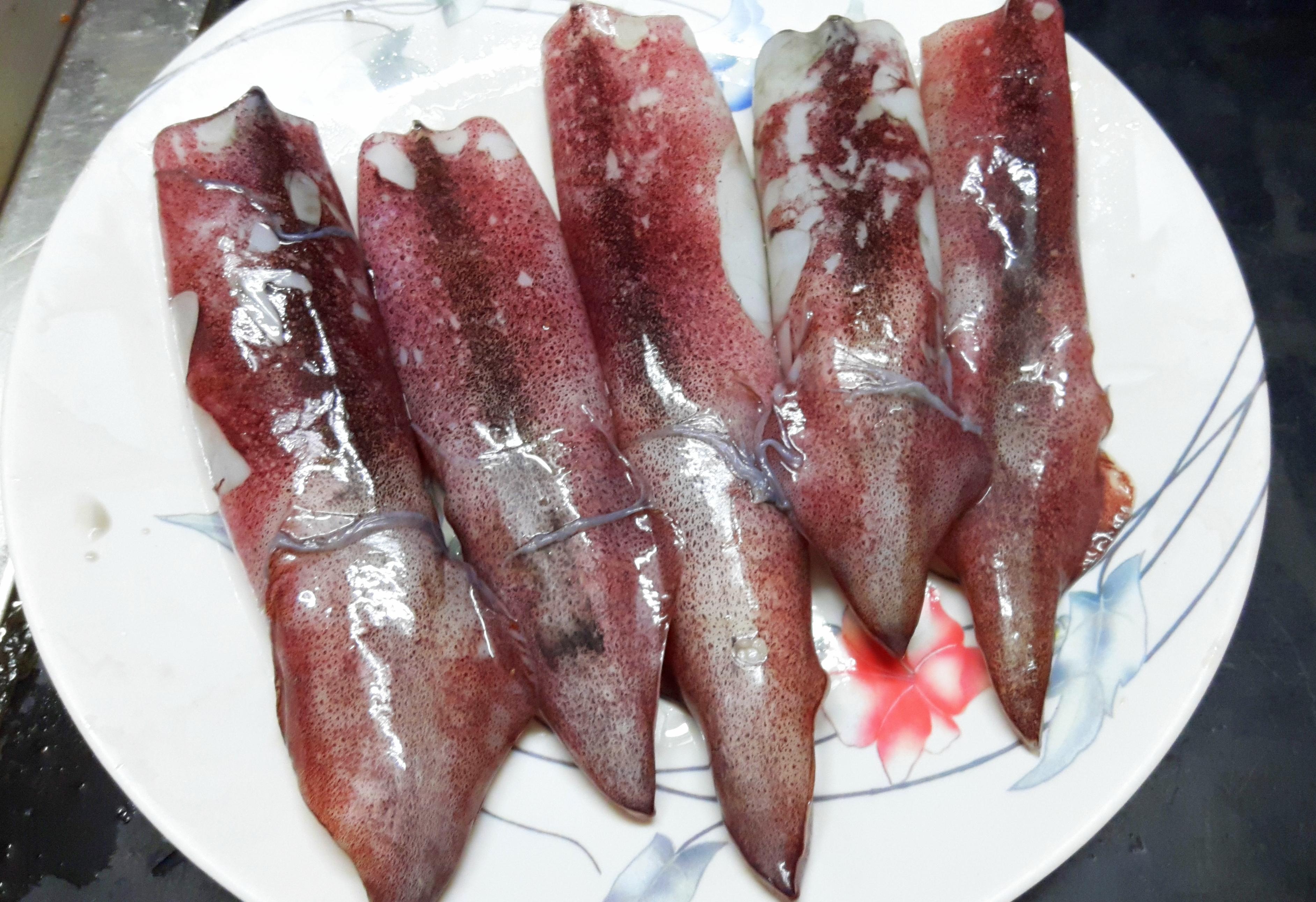 Squid (kanava fish)