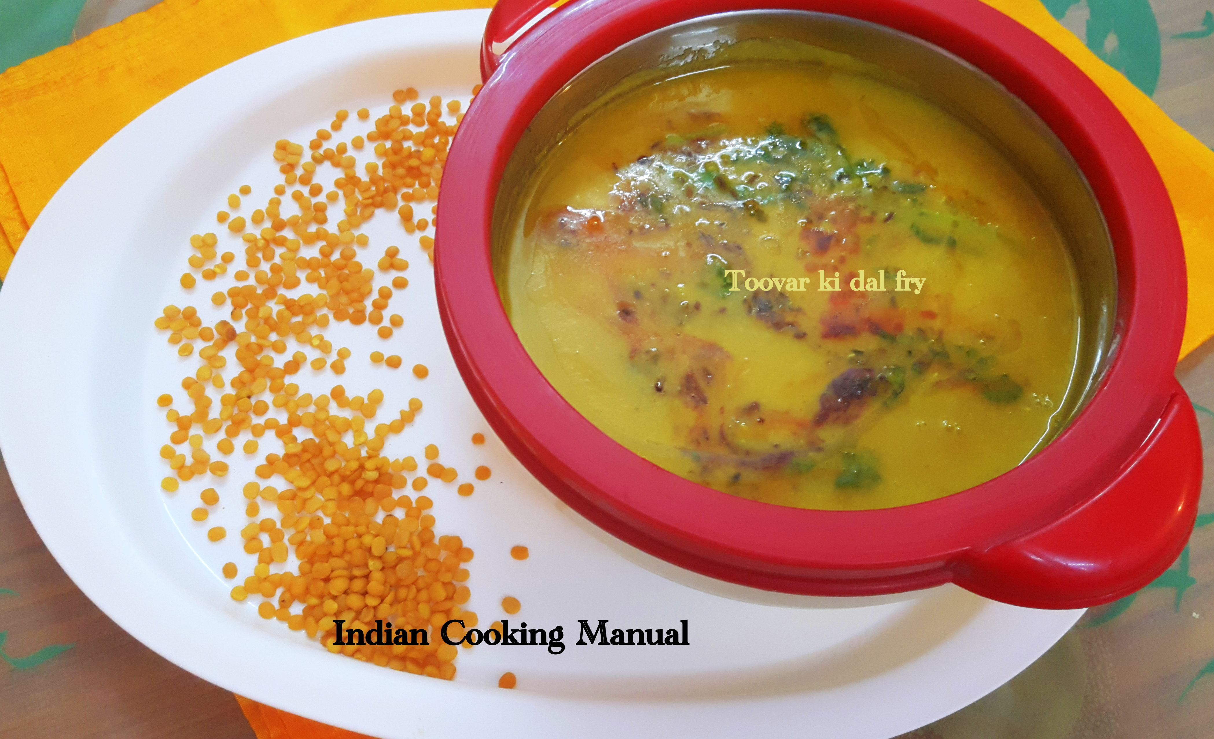 how to cook arhar dal