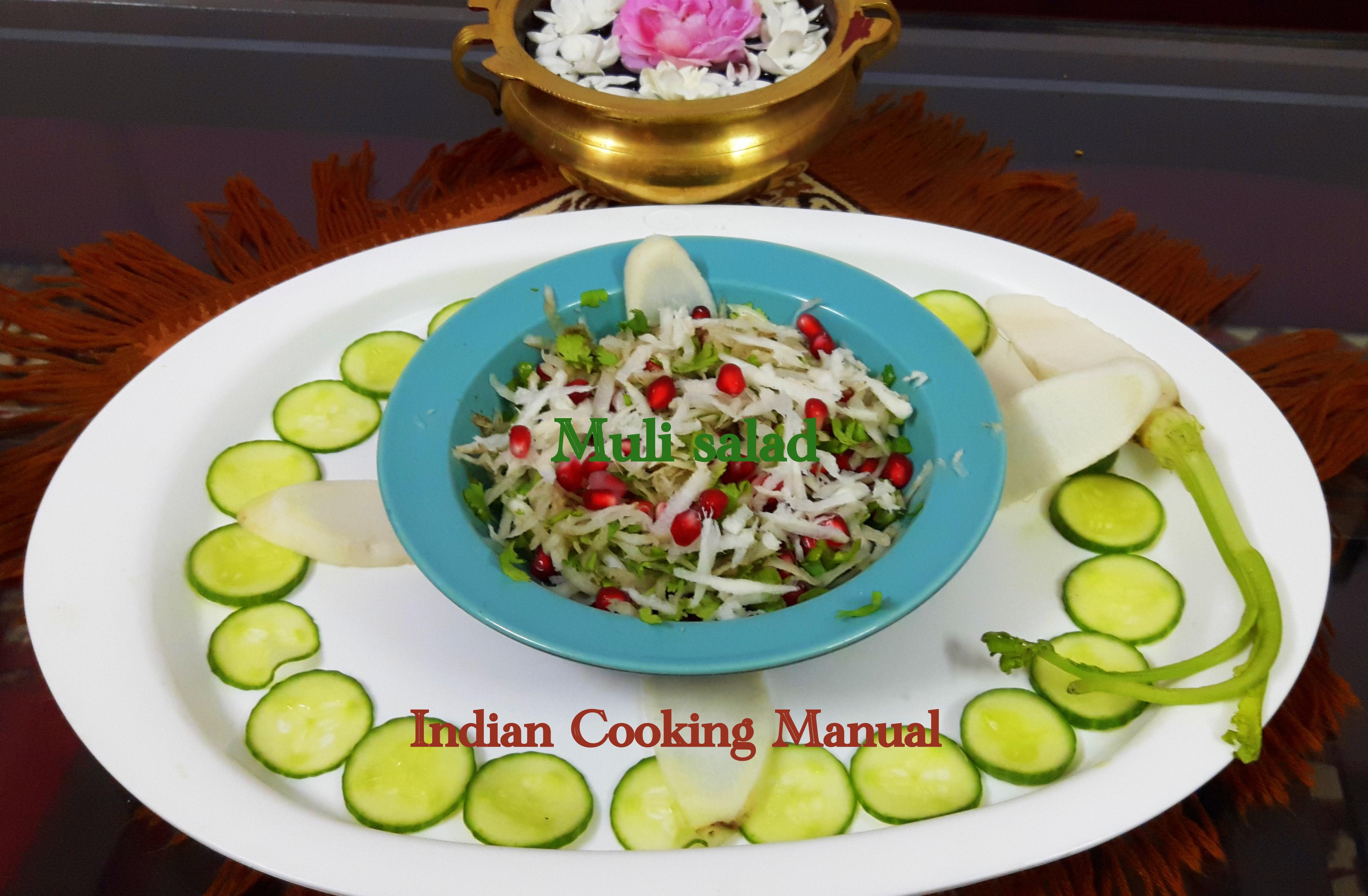 Muli salad (radish salad)