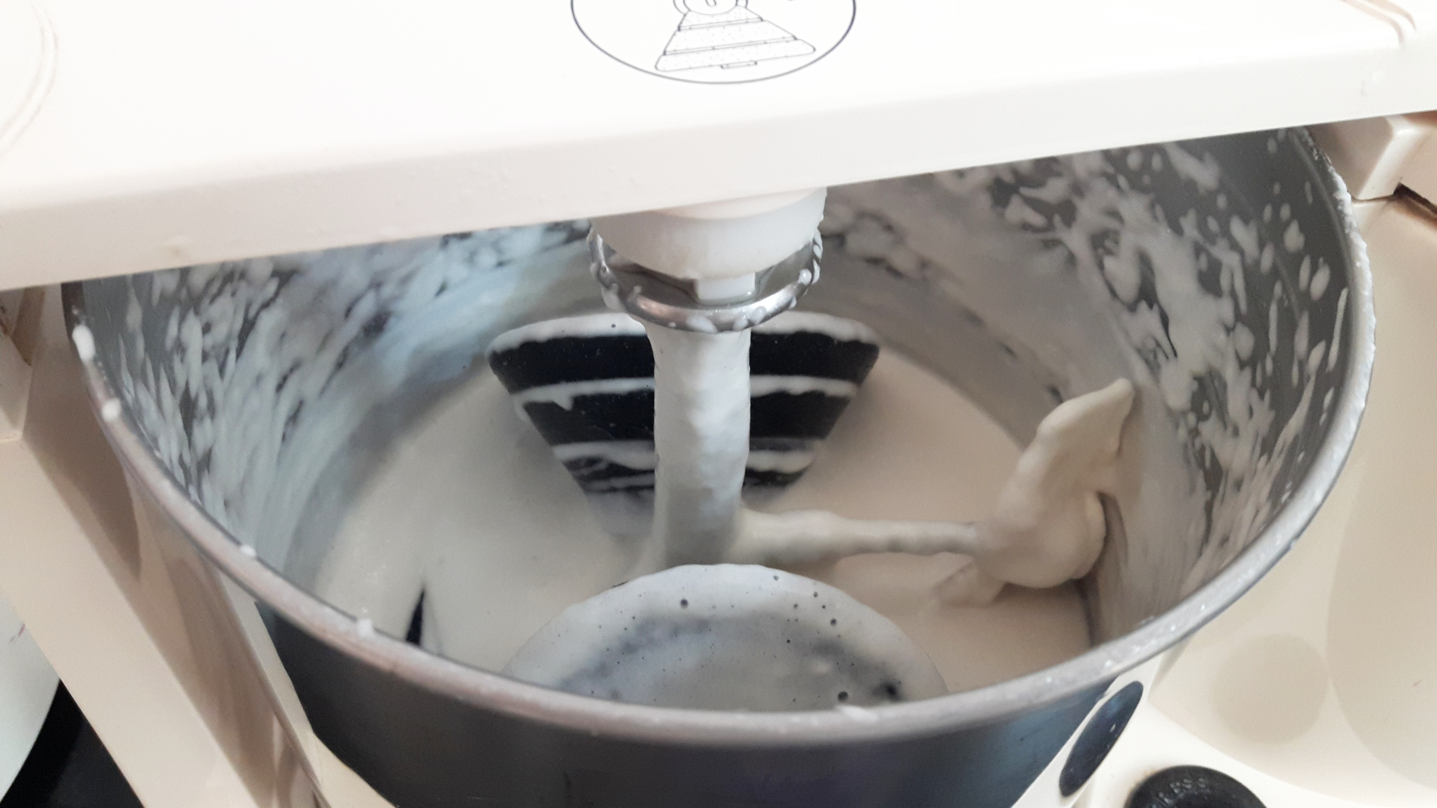 Grind the dal with equal amount of water