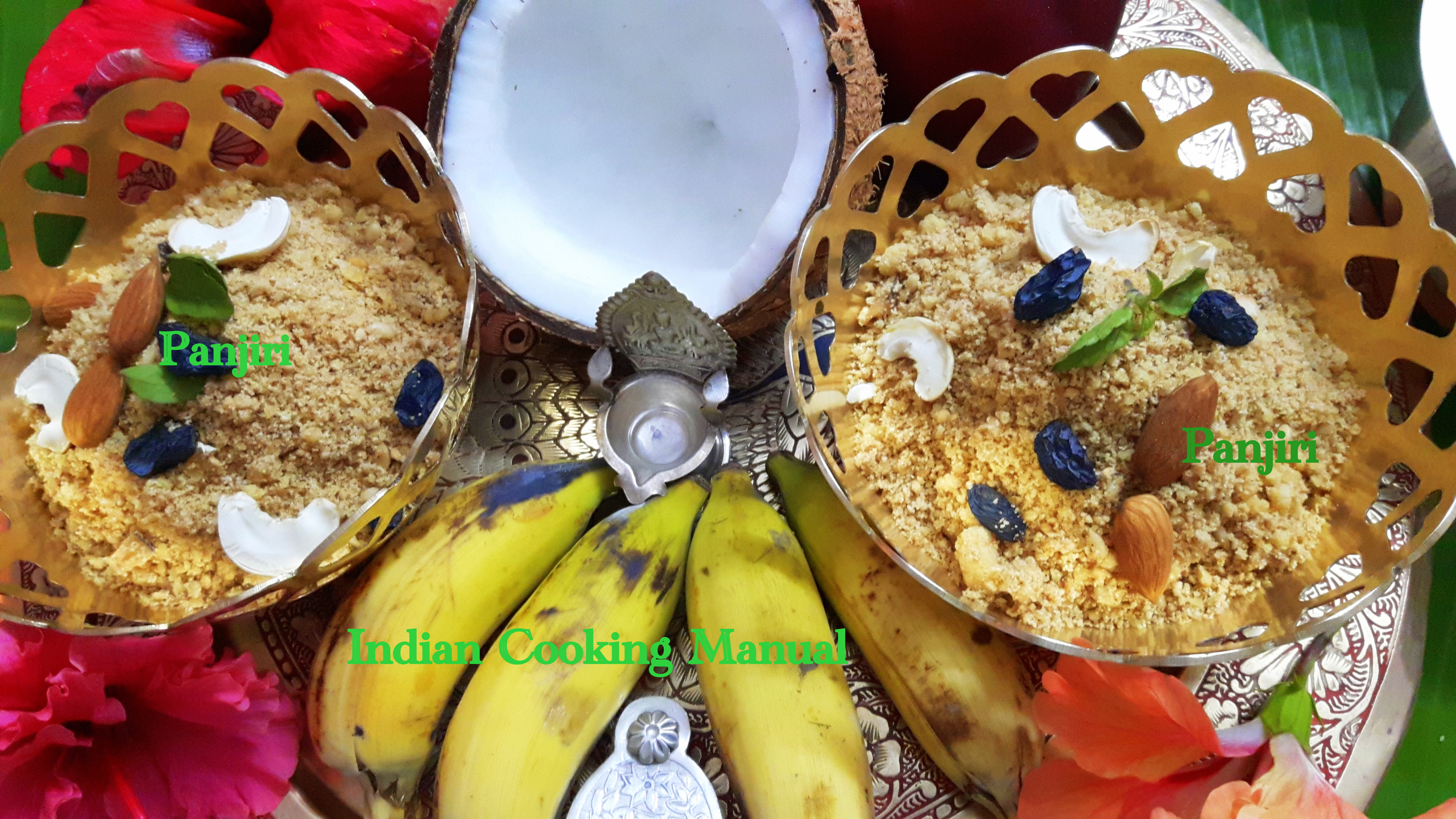 Panjiri/kasar (sukha prasad for satya-narayan pooja)