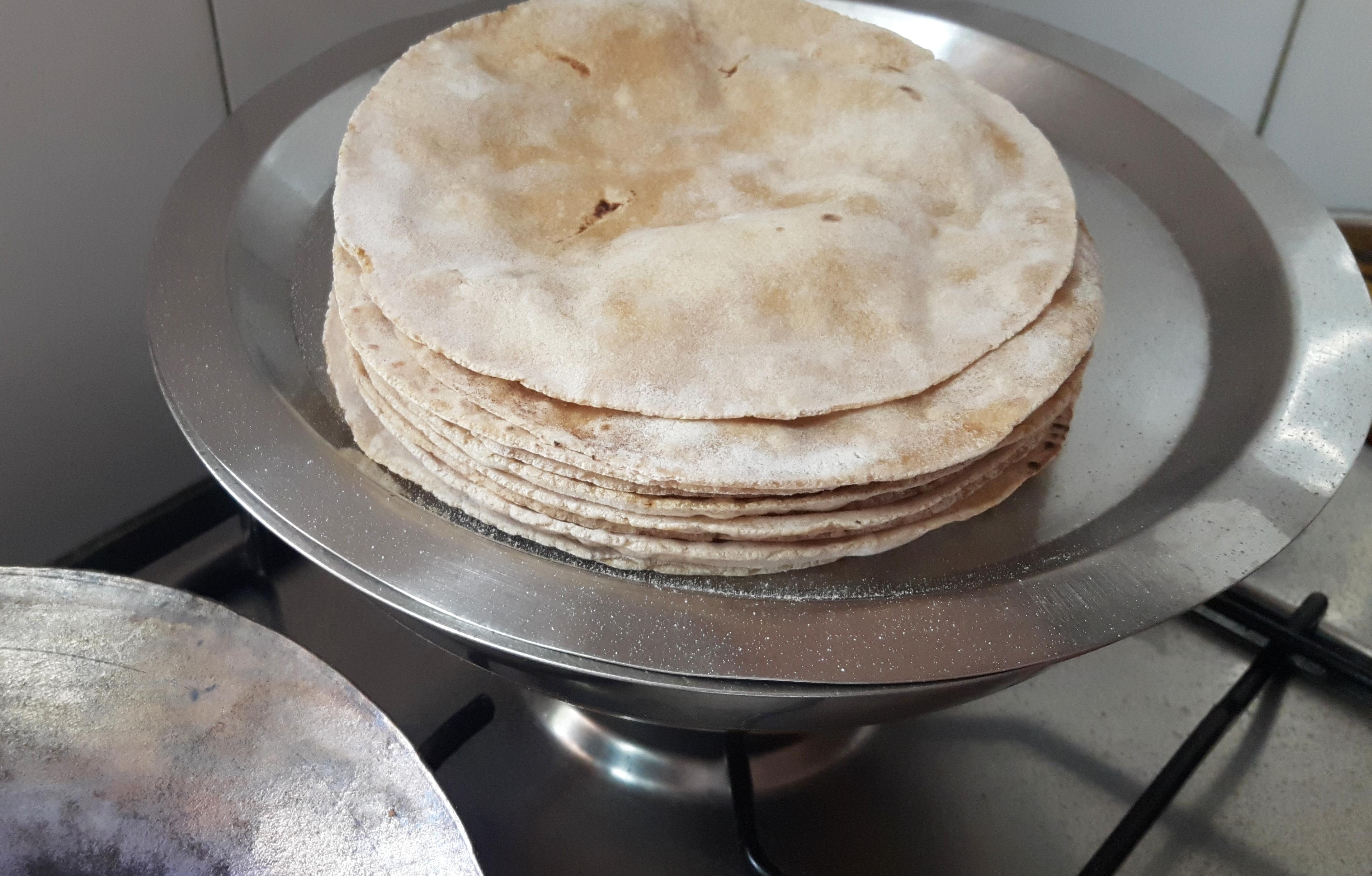 Chapati/tawa roti (phulka)