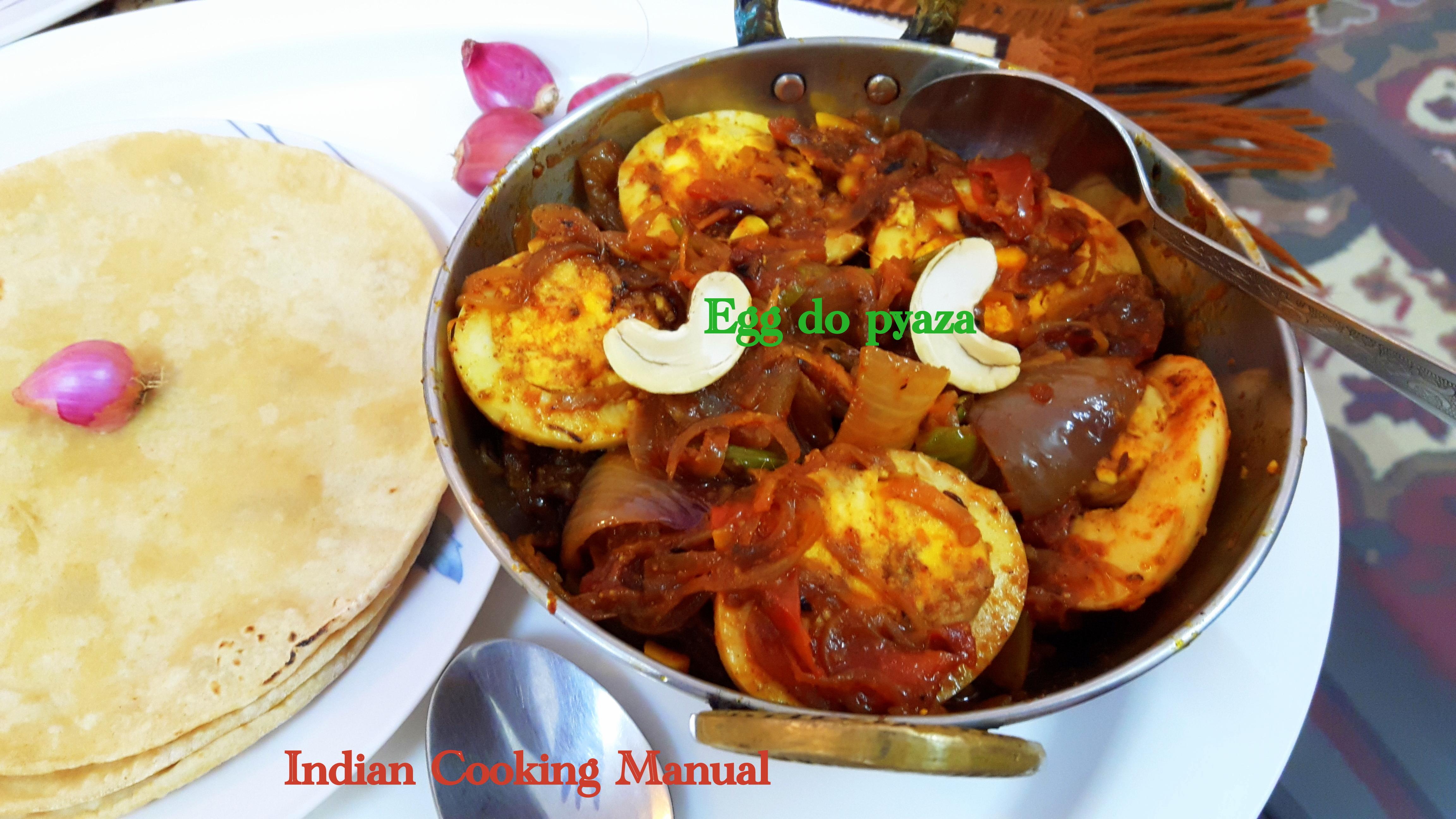 Egg do pyaza