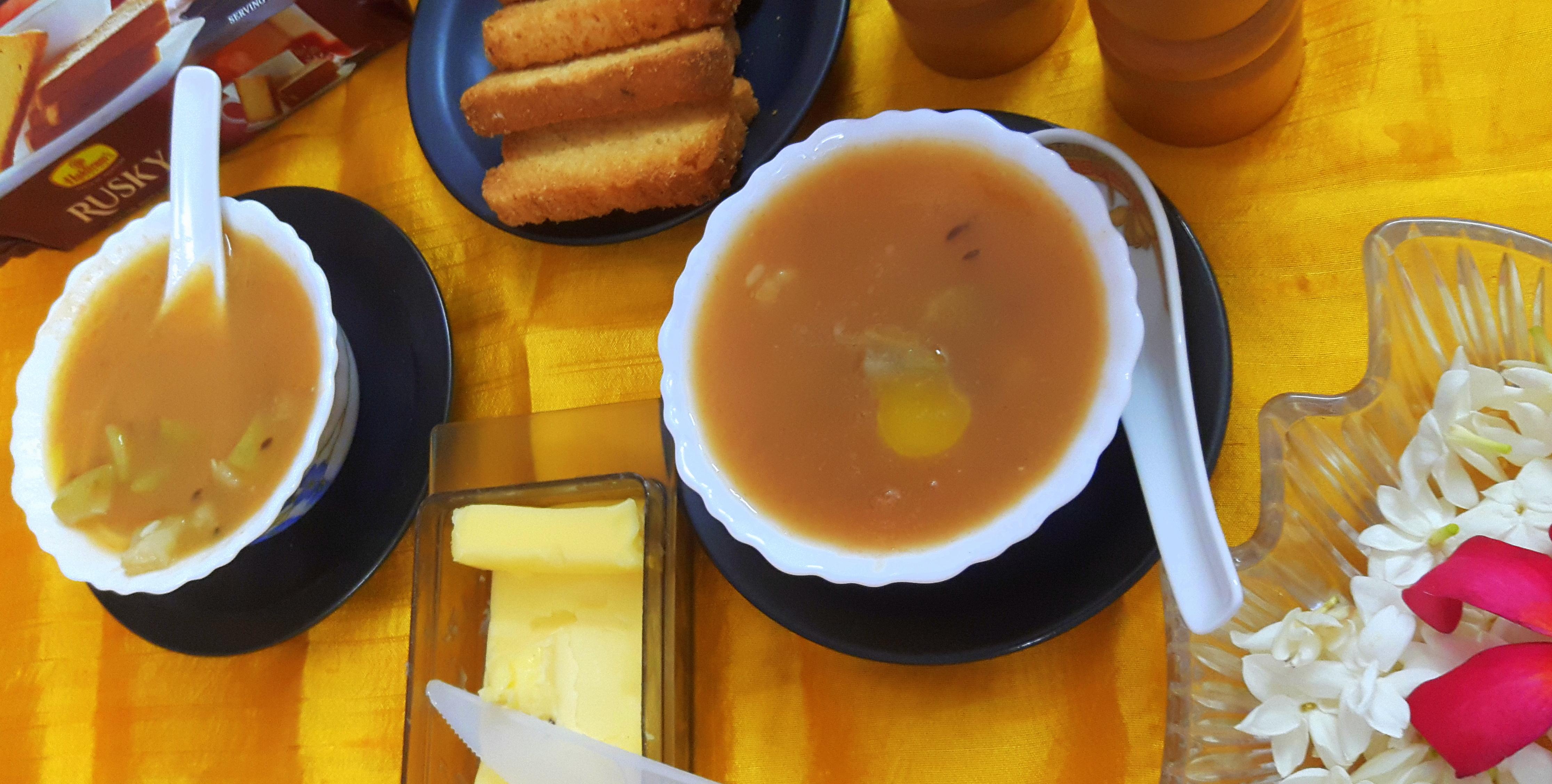 Lauki (bottle gourd) soup